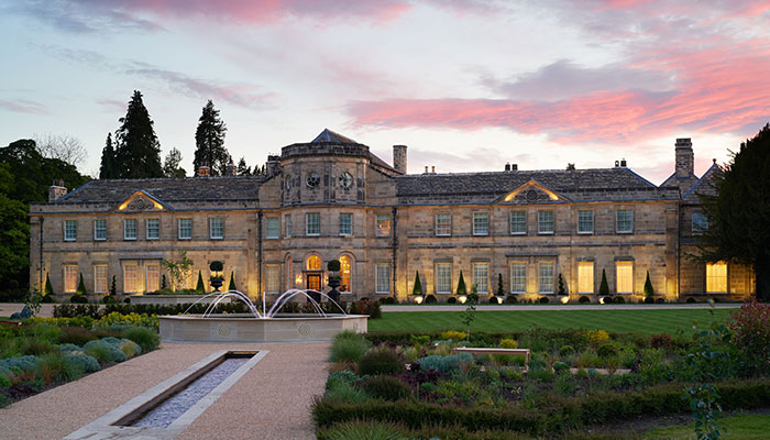 UK GETAWAY: GRANTLEY HALL