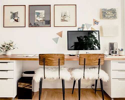 HOME WORKING SOLUTIONS WITH NOOK DESIGN