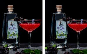 Blackberry Gimlet Cocktail from WL Distillery
