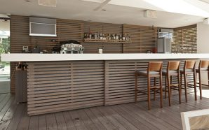 DIY Garden Bar